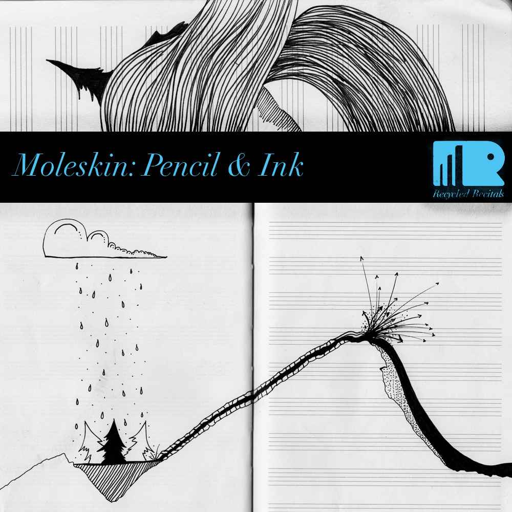 Erik Lehman - Moleskin: Ink and Pencil